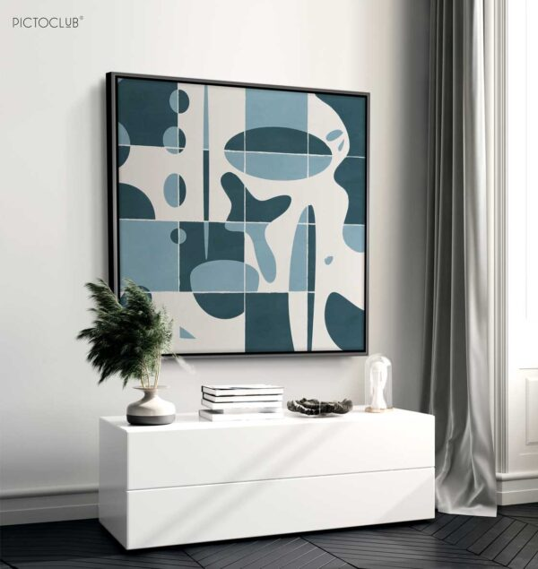 PICTOCLUB Painting - BLUE-PUZZLE - Pictoclub Originals