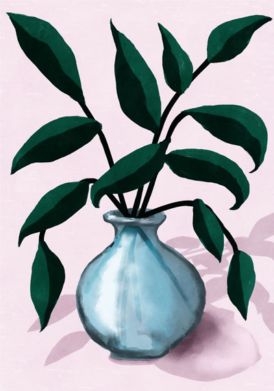 PICTOCLUB Painting - FRESHLY CUT - Pictoclub Originals