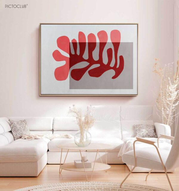 PICTOCLUB Painting - RED REEF - Pictoclub Originals