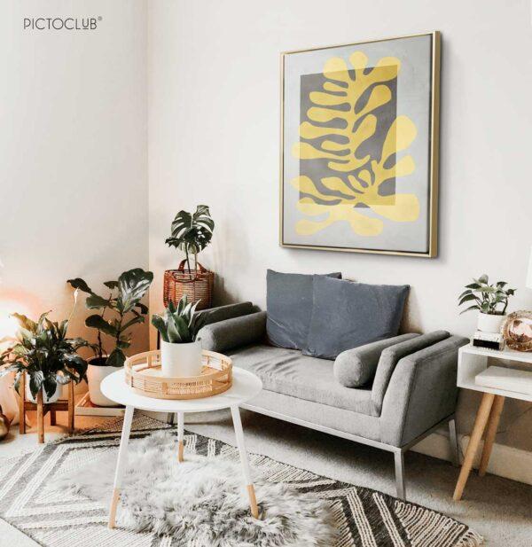 PICTOCLUB Painting - YELLOW REEF - Pictoclub Originals