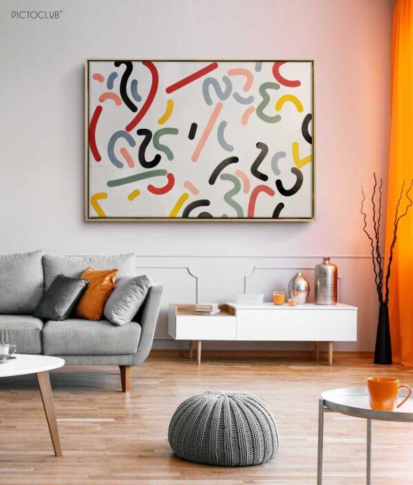 PICTOCLUB Painting - CONFETI Nr. 2 - Pictoclub Originals