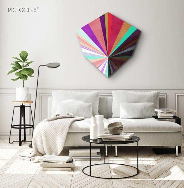 PICTOCLUB Painting - COLOUR CUBE- Pictoclub Originals