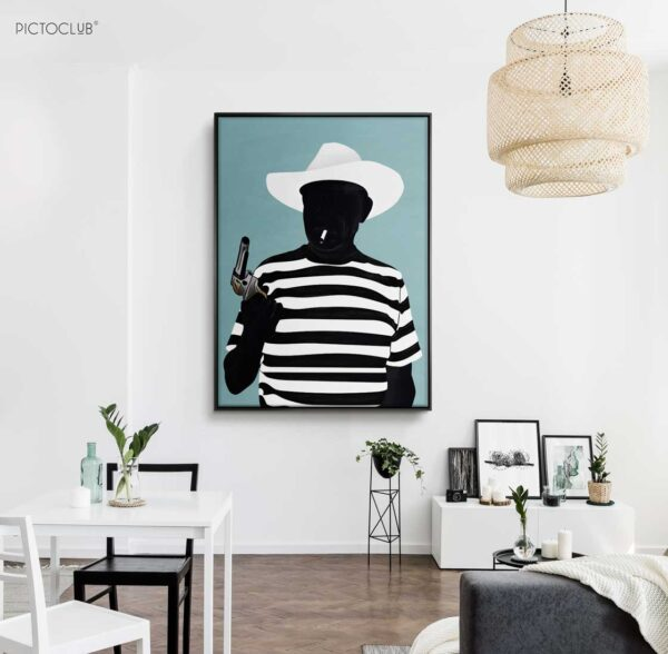 PICTOCLUB Painting - PABLO - Pictoclub Originals