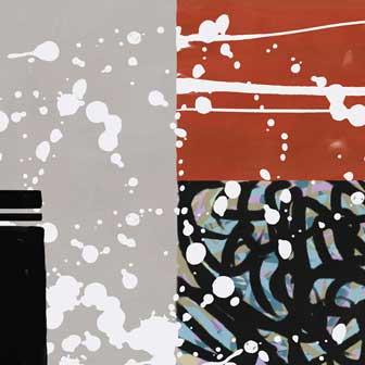 PICTOCLUB Painting - BINAURAL Nr. 2 - Pictoclub Originals