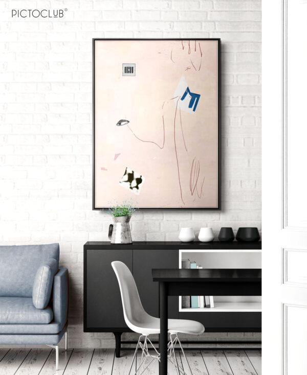 PICTOCLUB Painting - PINK MIND - Pictoclub Originals