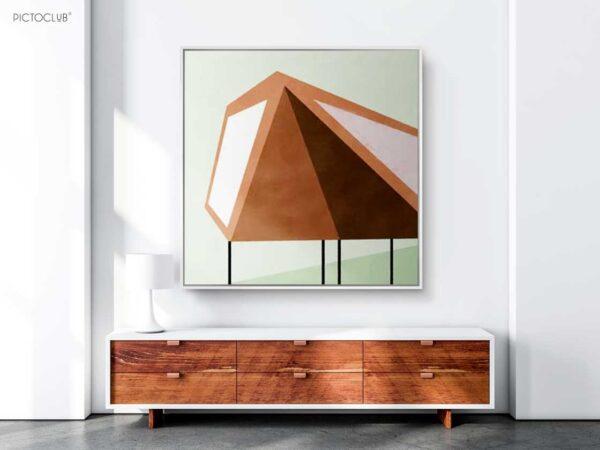 PICTOCLUB Painting - DUNEDAI HOME - Pictoclub Originals