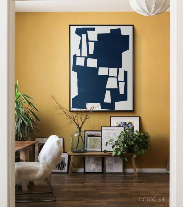 PICTOCLUB Painting - BLUE SHOCK - Pictoclub Originals