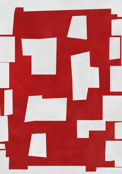 PICTOCLUB Painting - RED SHOCK - Pictoclub Originals